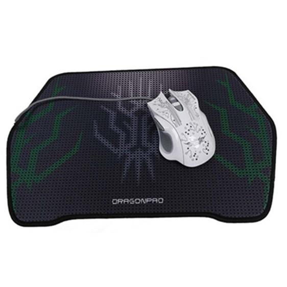 Wholesale custom shape oem natural rubber foam fabric mousepad with logo