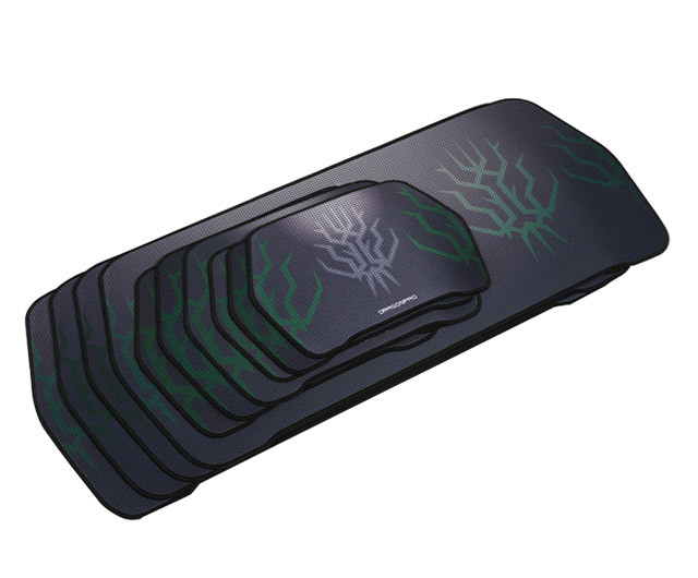 Custom Design New Style Durable Waterproof Rubber Large Gaming Mouse Pad