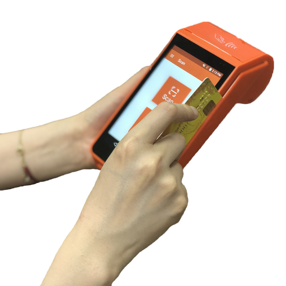 Printer Terminal Tablet With Touch Screen Mobile Payment Thermal Android Pos