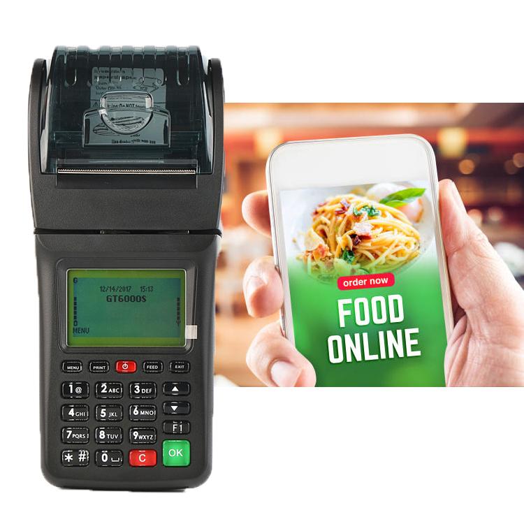 Portable Cheap Price Handheld Billing Machine Restaurant POS Machine With Printer