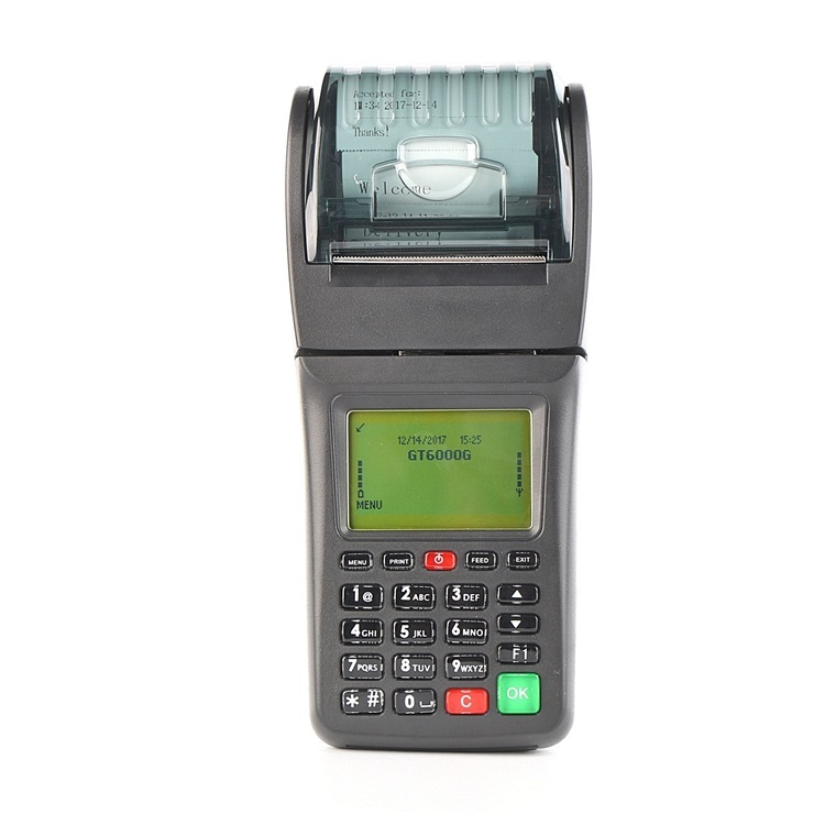 Restaurant POS Portable Wireless Thermal 3G WCDMA Lottery Ticket Printer