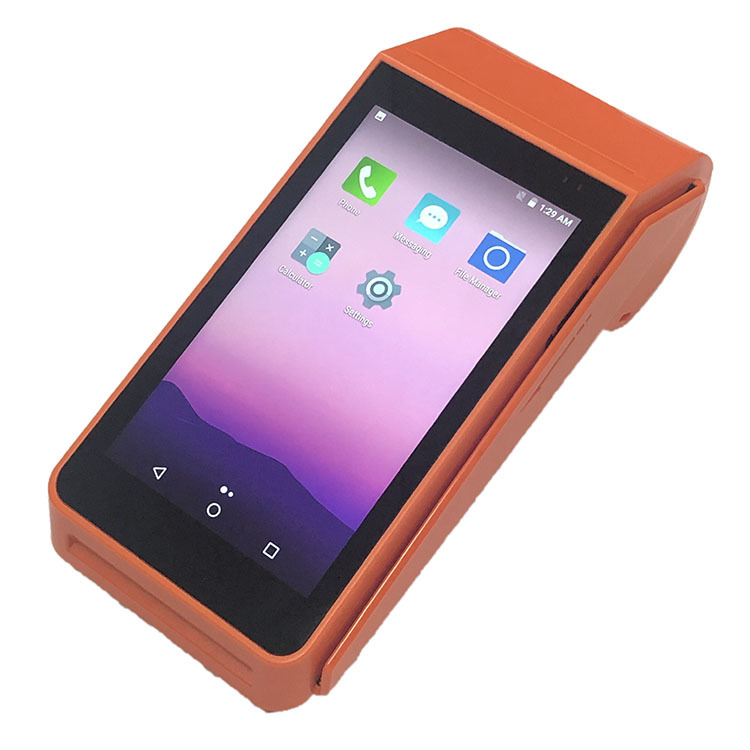 4G LTE Android Smart Tablet Handheld Touch Screen POS Terminal With Thermal Printer for Online Food Ordering