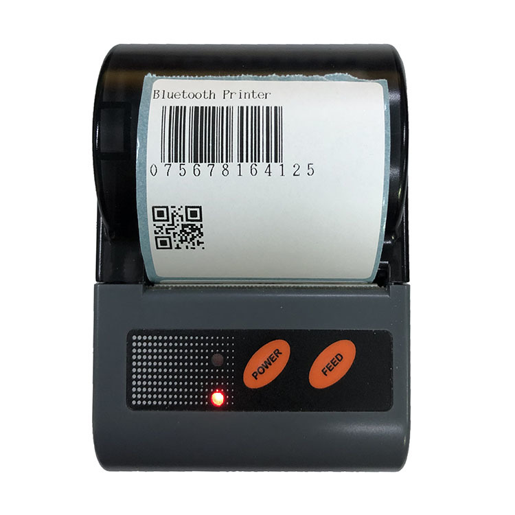 2inch Portable Mini Android Mobile Bluetooth Thermal Receipt Printer Barcode Label Printer For Android IOS and Windows