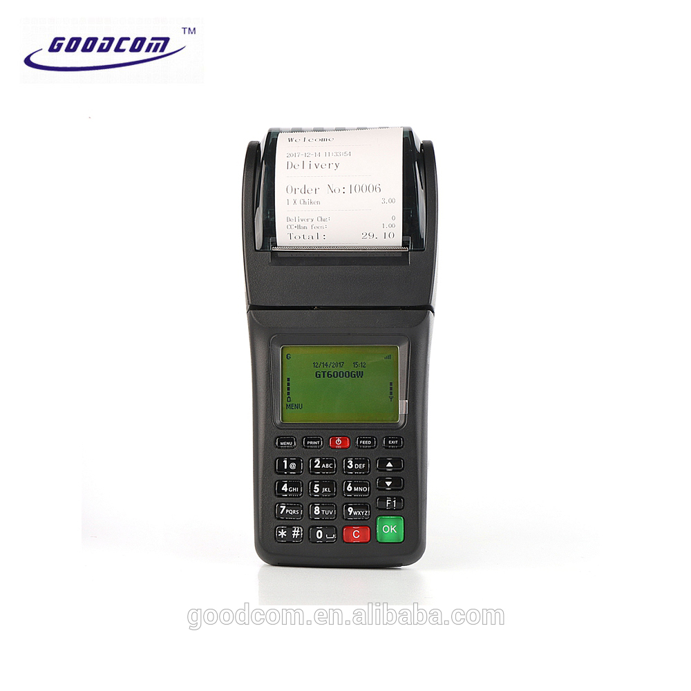 Customizable WIFI 3G Available Wireless Mobile Terminal with Printer