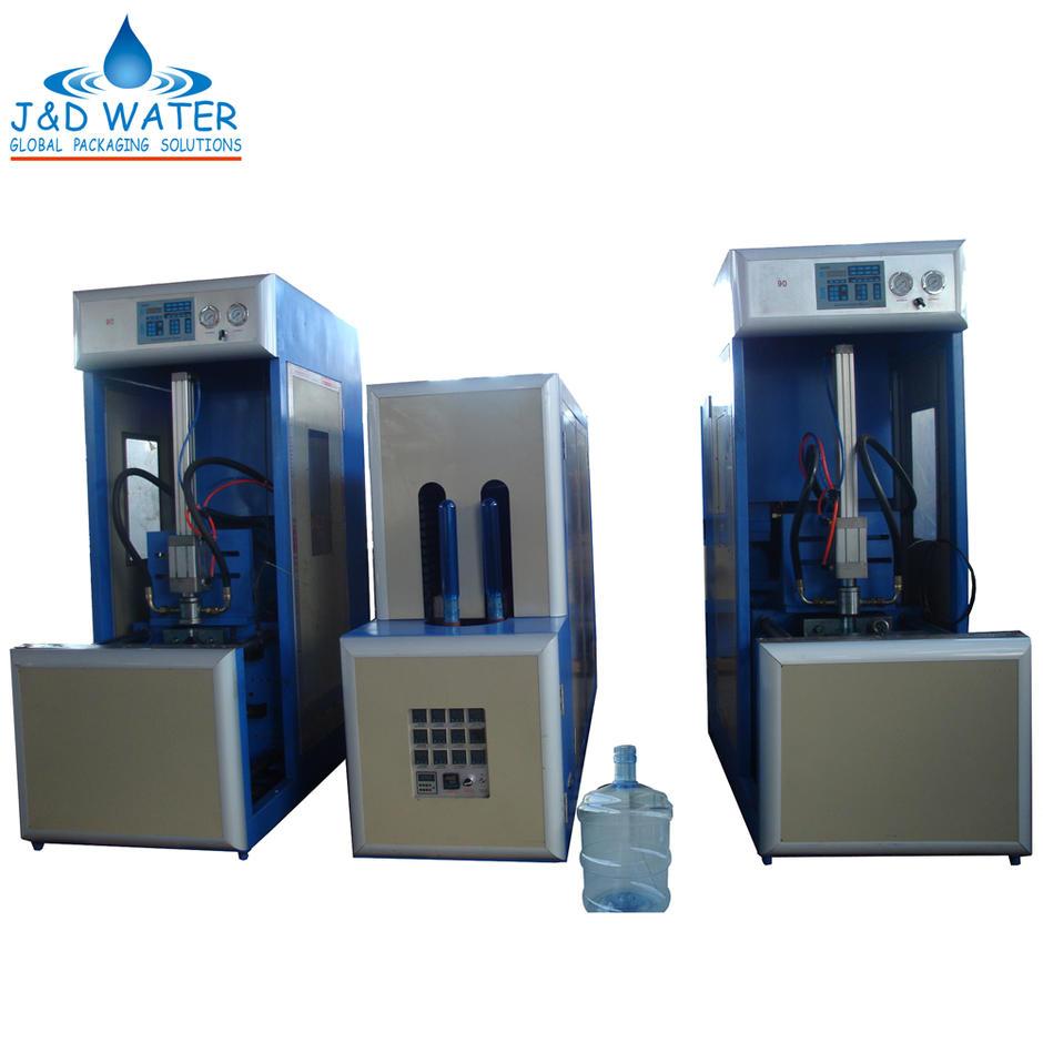 5 GALLON PLASTIC BOTTLE SEMI-AUTO STRETCH BLOW MOLDING MACHINE