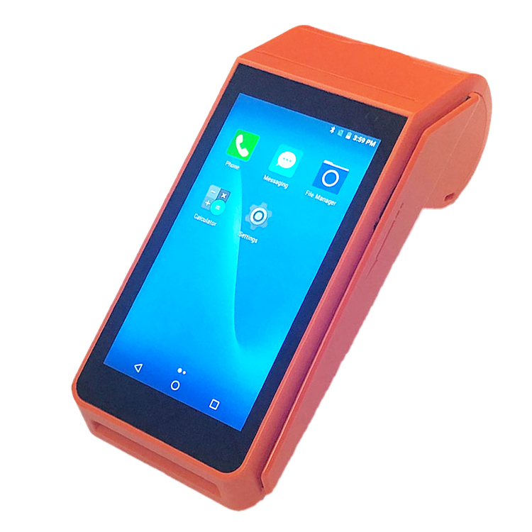 4g Android POS Bluetooth Touch Screen With Printer Payment Tablet Terminal