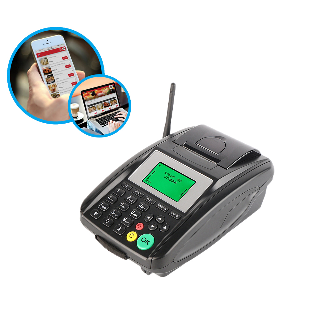 Factory Cheap GT5000S Thermal Receipt Wireless Restaurant Food Online Order GPRS SMS Printer