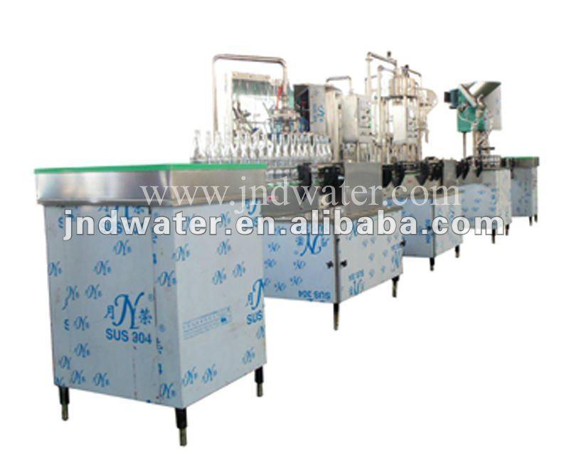 Split-type Automatic Glass Bottle Filling Machine