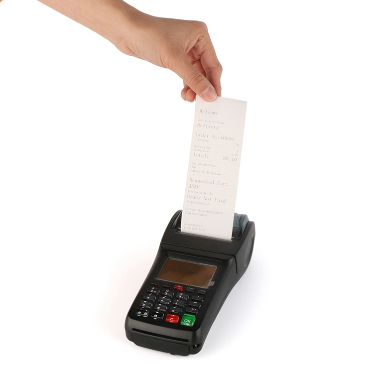 Hot 3G WCDMA Handheld Lottery Ticketing Printing Machine Portable Pos Terminal Software customizable