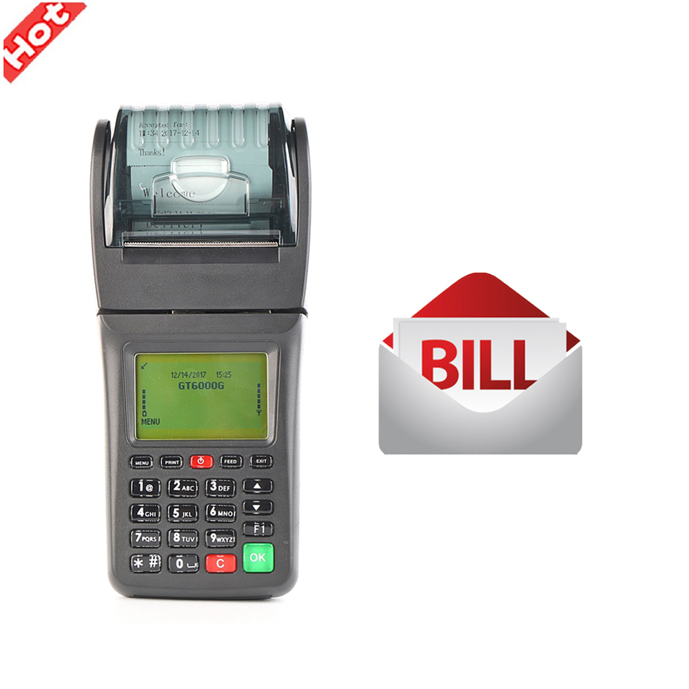 3G Smart Mobile Thermal Wireless GPRS Handheld POS Ticket Receipt Printer