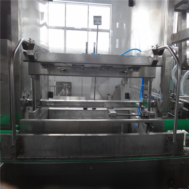fully automatic piston type 3-5 liter bottle water filling machine for for sale