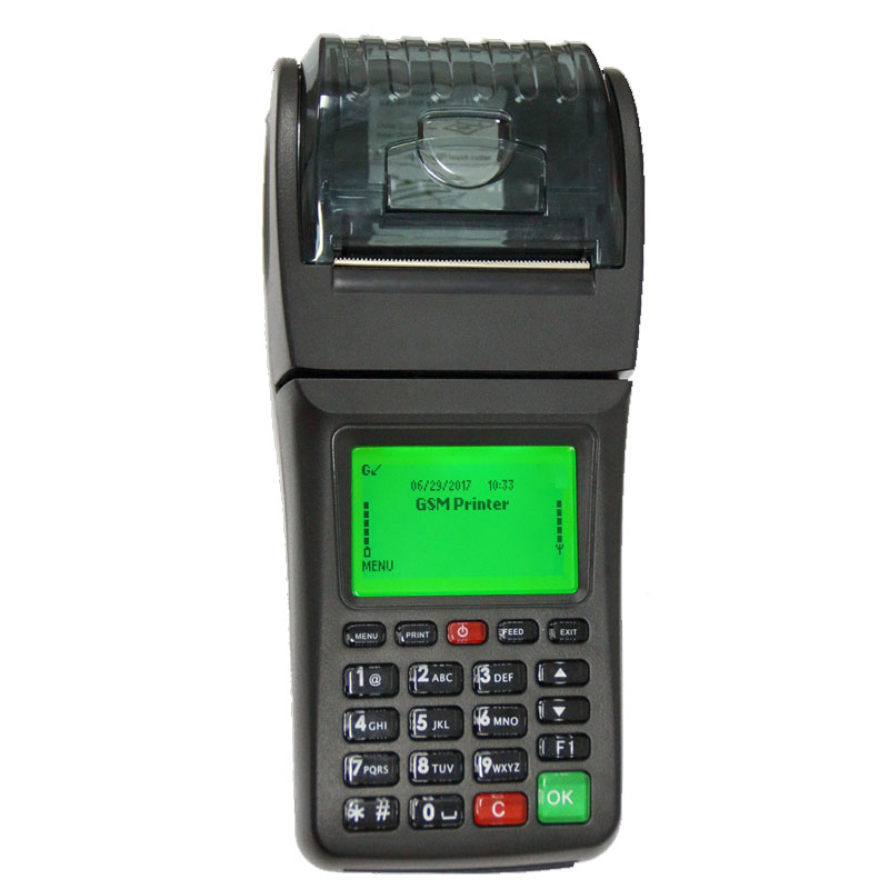 58mm Wireless Thermal Lottery Bus Parking Ticket Portable Handheld Printer