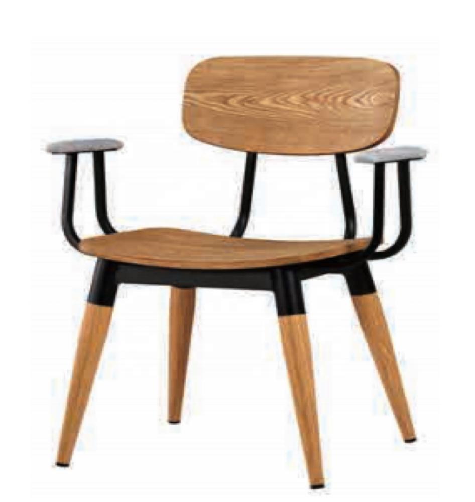 Steel Furniture Modern Kitchen Wood Design Dining Chair