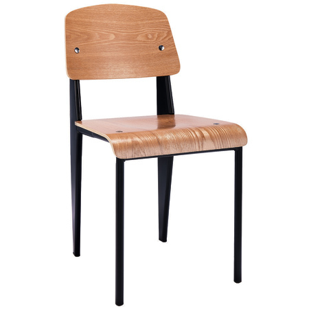 Bent Seat Parts Replacement Metal And Back Dining Plywood Chair