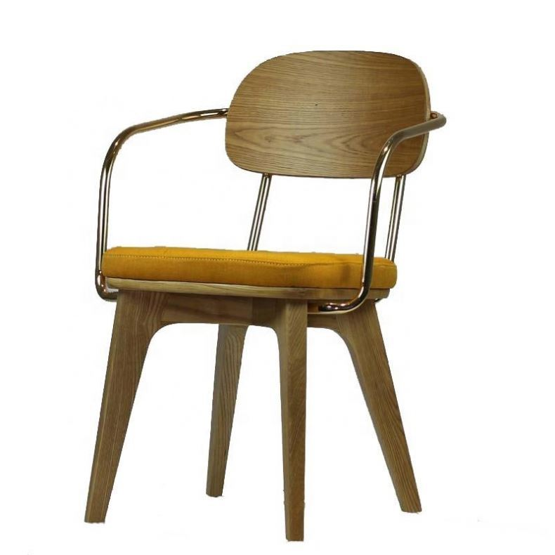 Wood Wooden Solid Hand Carved Design Modern Dining Chair