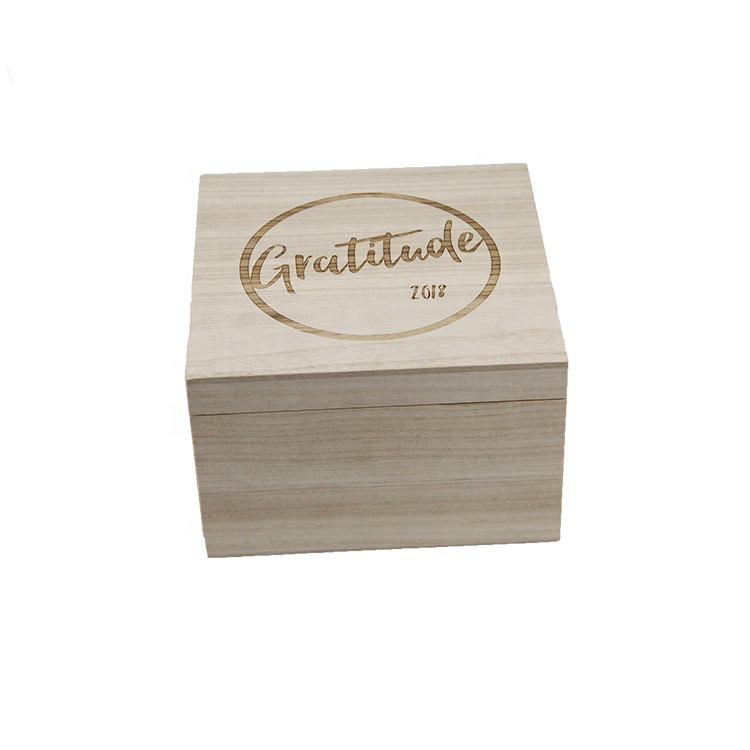 Hot selling simple useful customized light weight wooden gift box