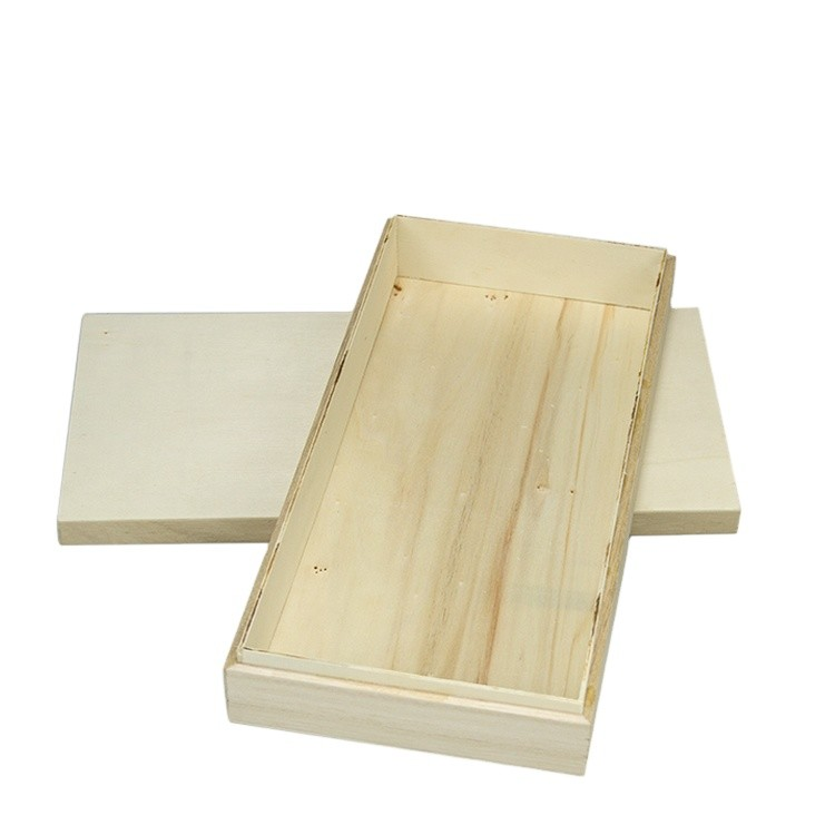 Eco-friendly paulownia wooden packing box