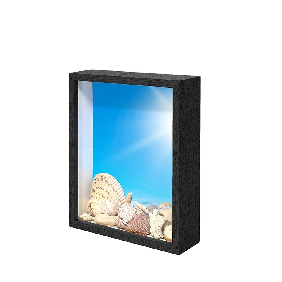 Hot sale shadow box frames wholesale wooden shadow box