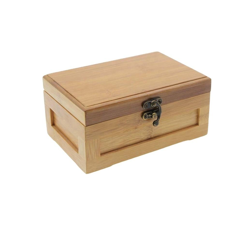 Wholesale luxury custom gift bamboo wood box