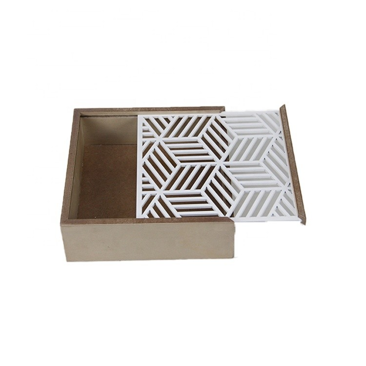 Factory OEM Accept Natural Color Wooden Gift Box Custom Handmade Wooden Box