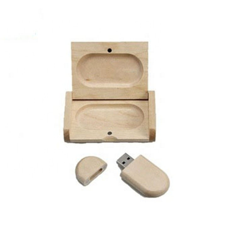 OEM wood usb custom size flash drive with wooden box