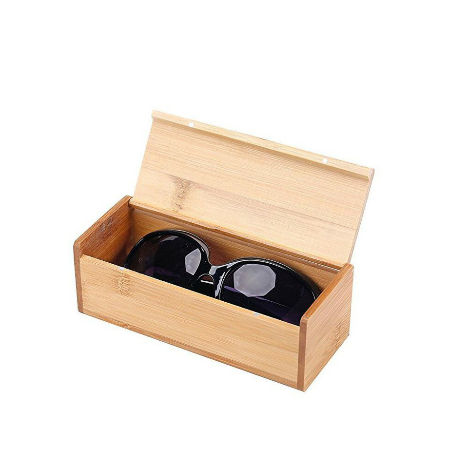 Hot sale Custom packaging Simple useful style wooden sunglasses box
