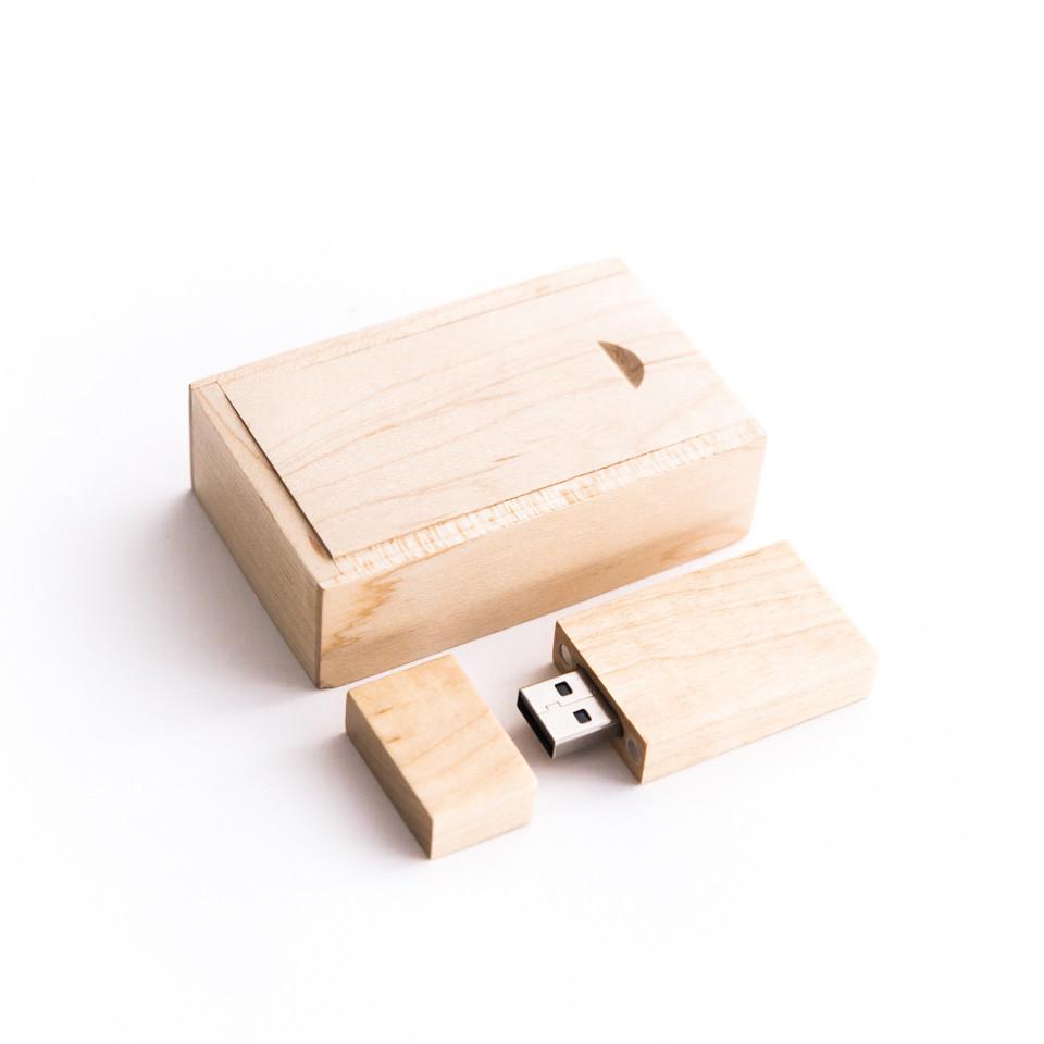 Factory price packing box wedding gift usb wood box