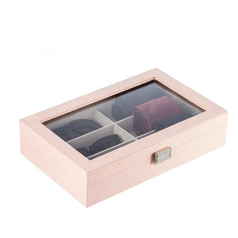 Hot Sale Custom Design Storage Wooden Tie Box