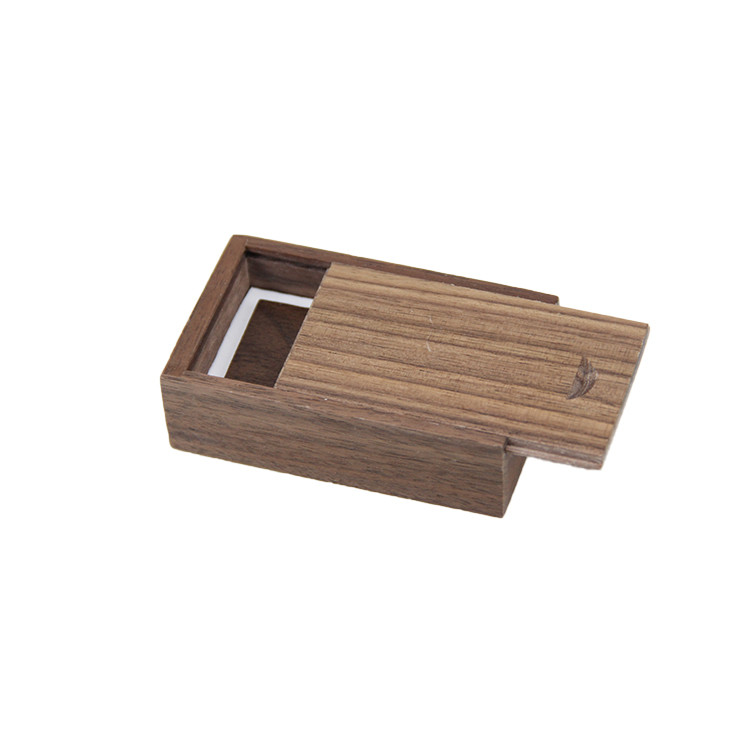 Well Made Delicate Wooden Box Usb 4gb For Gift