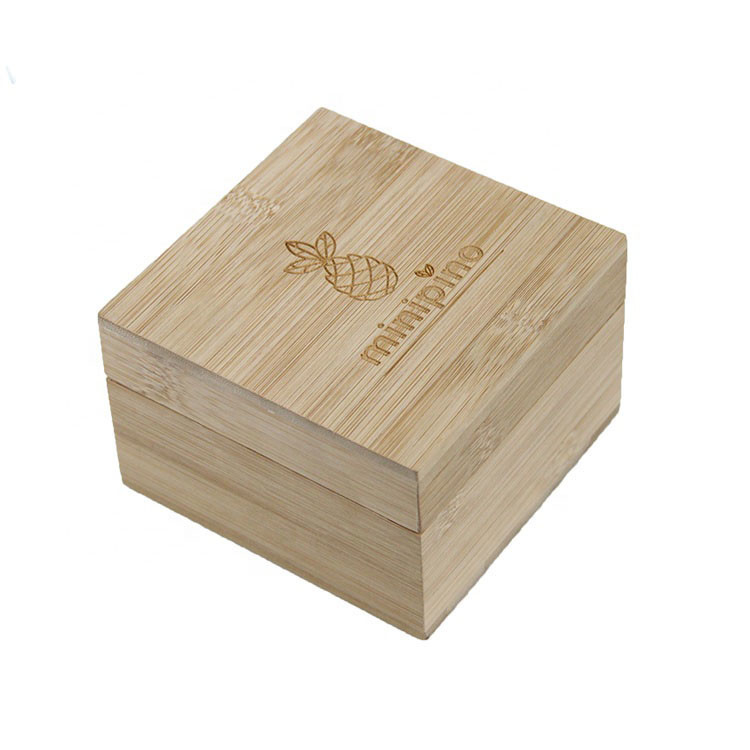 Factory OEM accept colored simple useful print wooden gift box