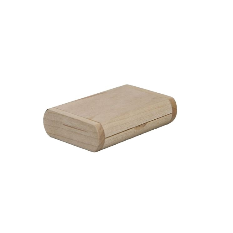 Most Welcome Wooden Usb 2.0 Flash Pendrive With Boxes Small Gift Box