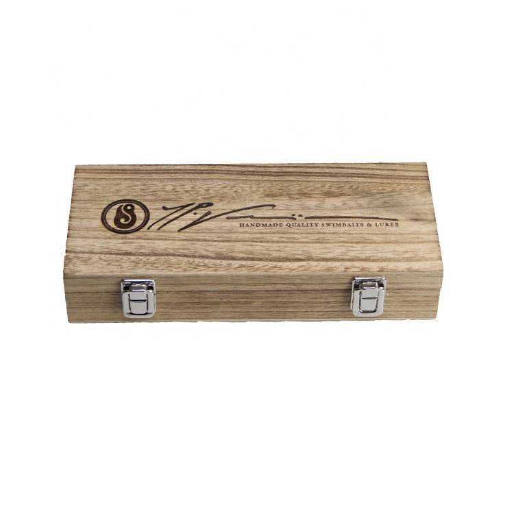 Accept OEM factory fair price wooden gift box with custom logo