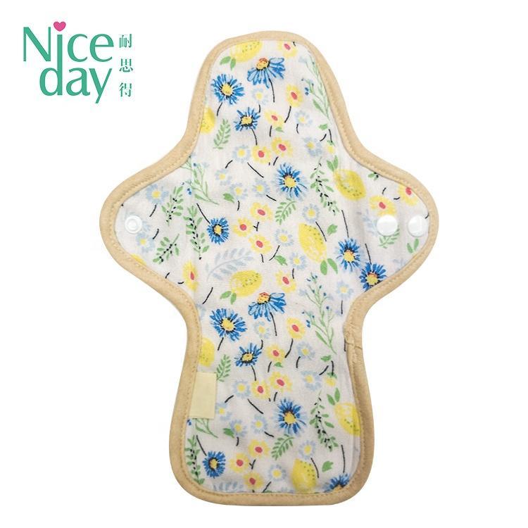 Customizable pattern reusable Sanitary Pads brand name menstrual pads