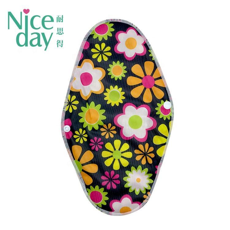 Simplify Your Life Washable Sanitary Napkin Reusable Menstrual Pads Bamboo Cloth Sanitary Pads Disposable Day Breathable Regular