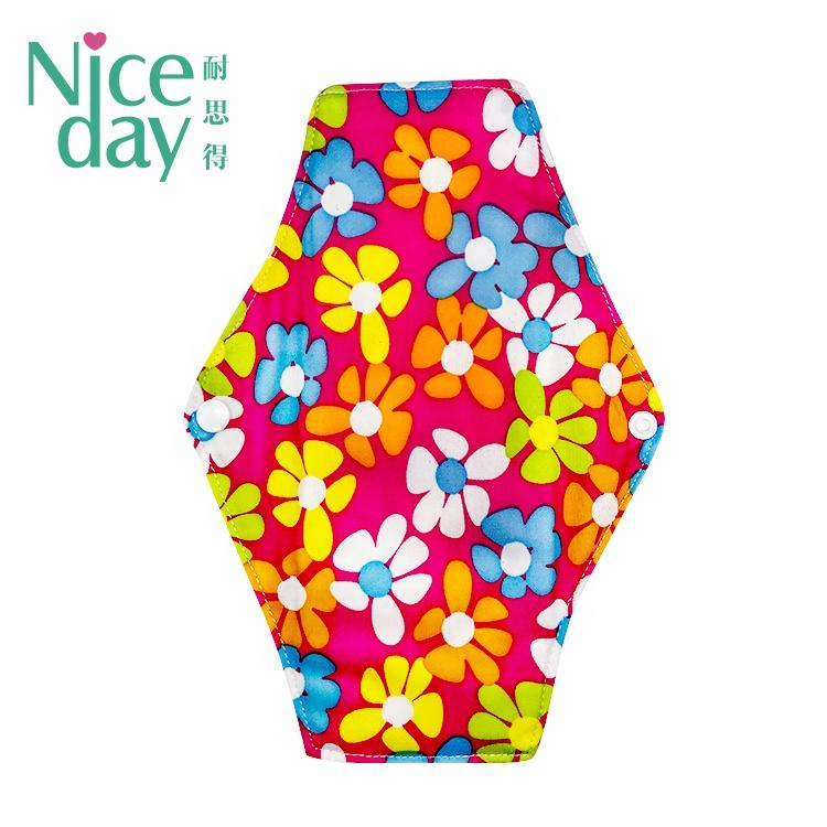 ECO reusable menstrual pads coloful cloth pads