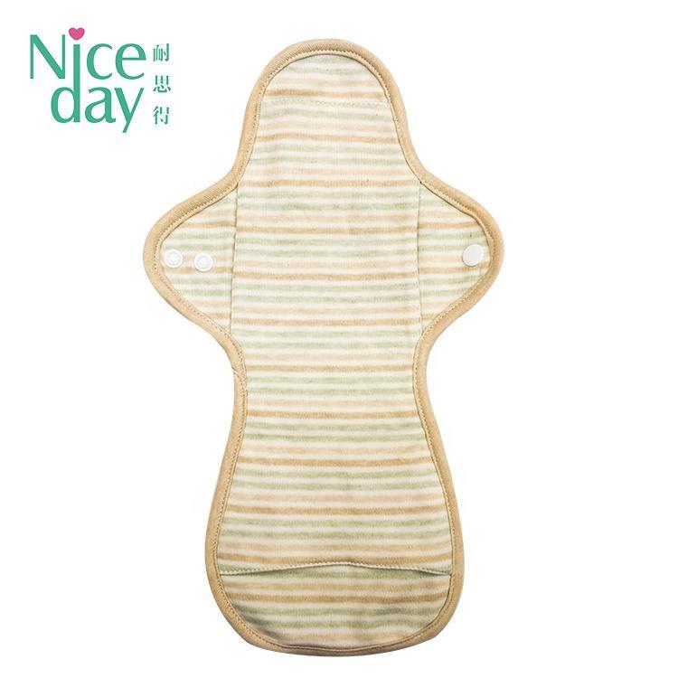 Reusable organic menstrual pads eco-friendly washable sanitary napkin Pads