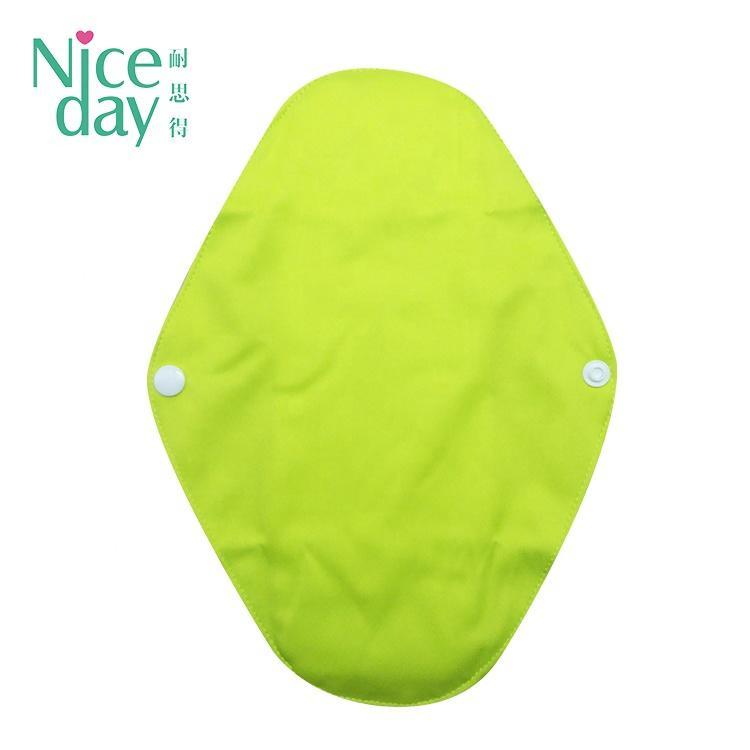 Wholesale Natural reusable sanitary pads environmentally friendly Menstrual pad washable clothing pad