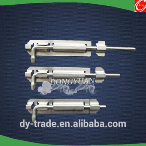 stainless steel barrel bolt/ door drop bolt