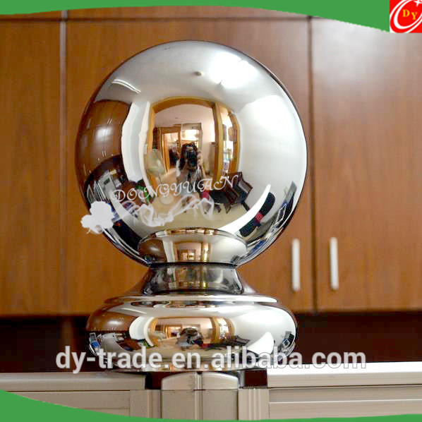 Stainless steel handrail fencing hollow end decorative ball