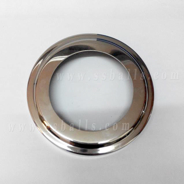 Gazing Stainless Steel Decorative Cover for Modern Balcony Pipe Railing