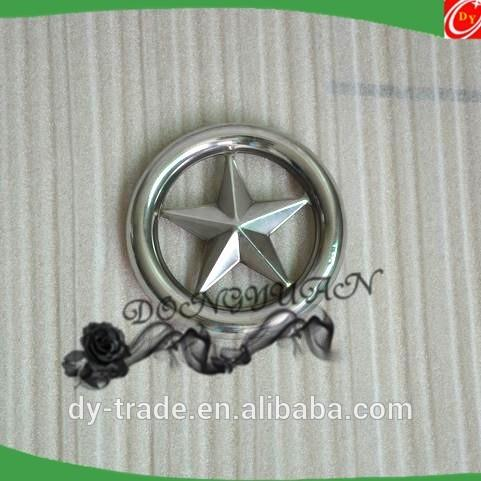 high polished stainless steel rosettes ( Star ) for gate decorative accessories