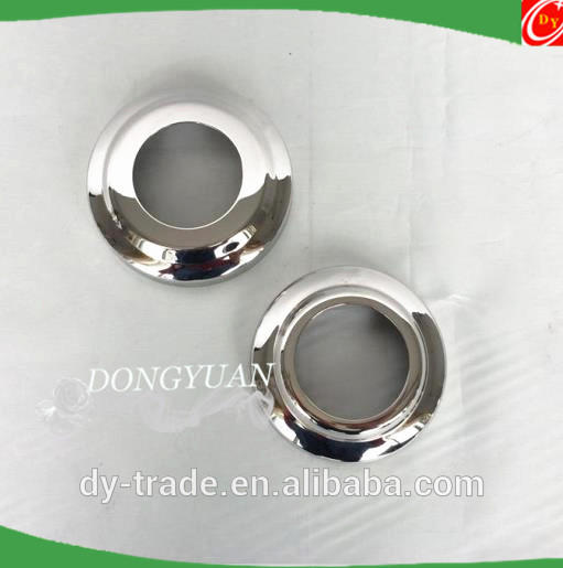 Stainless Steel Down Cover, Pipe Cover, Metal Steel Round Bottom