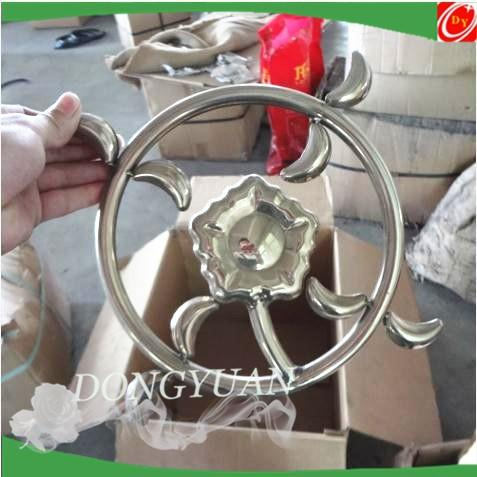 stainless steel rosettes ( plum flower) for door and window accessories