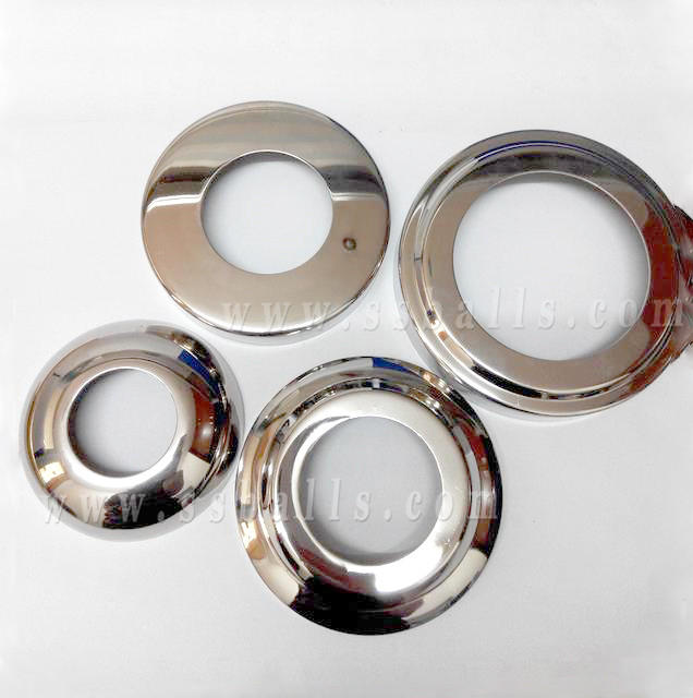 Round Stainless Steel Decorative Cover Fittings