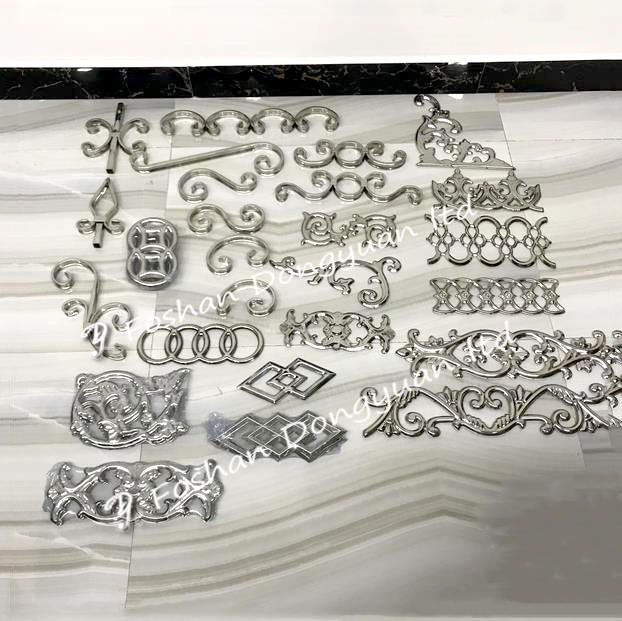 stainless steel rosettes for gate decorative accessories