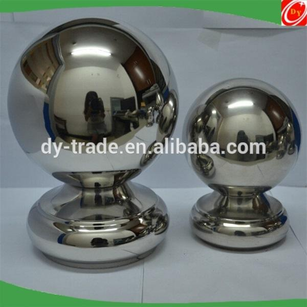 modern house outdoor metal stair railing balls accessories