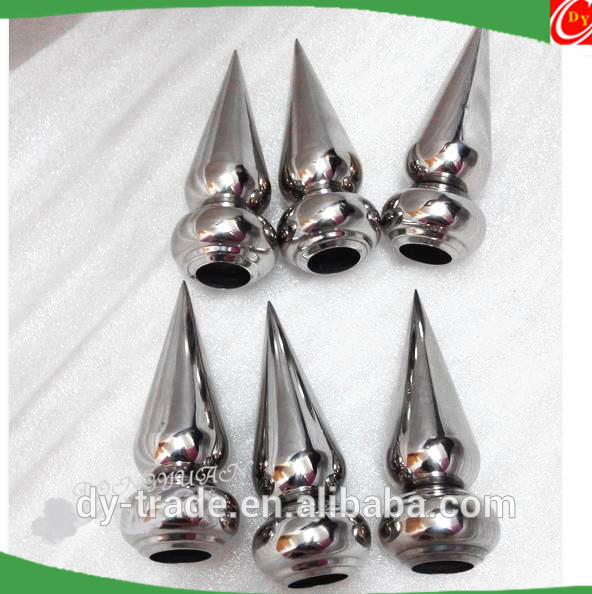19mm,22mm stainless steel decoration fence spear accessories