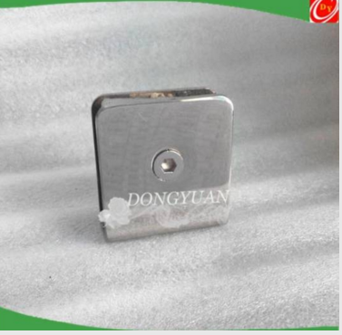 Stainless Steel Gass Railing Hardware, Steel Clamp Accessories