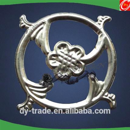 Stainless Steel Gate Ornamental Flower Accessories