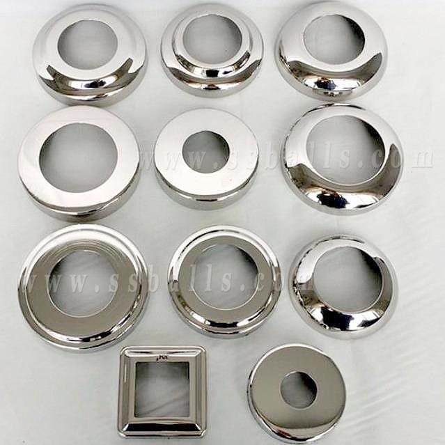 Stainless Steel Stairrail Cover Accessories/ Metal Gazing Steel EndBase